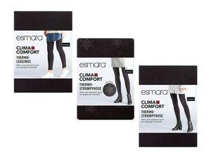 ESMARA® Thermo-Leggings/-Strumpfhose