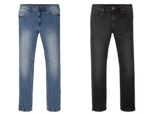 LIVERGY® Jeans Herren, Straight Fit, mit Bio-Baumwolle