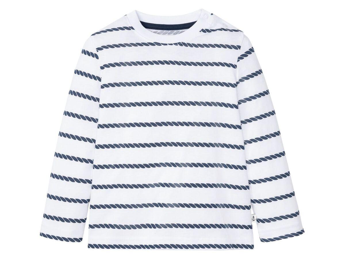 Bild 5 von LUPILU® Kleinkinder Langarmshirt Jungen, 3 Stück, mit Baumwolle