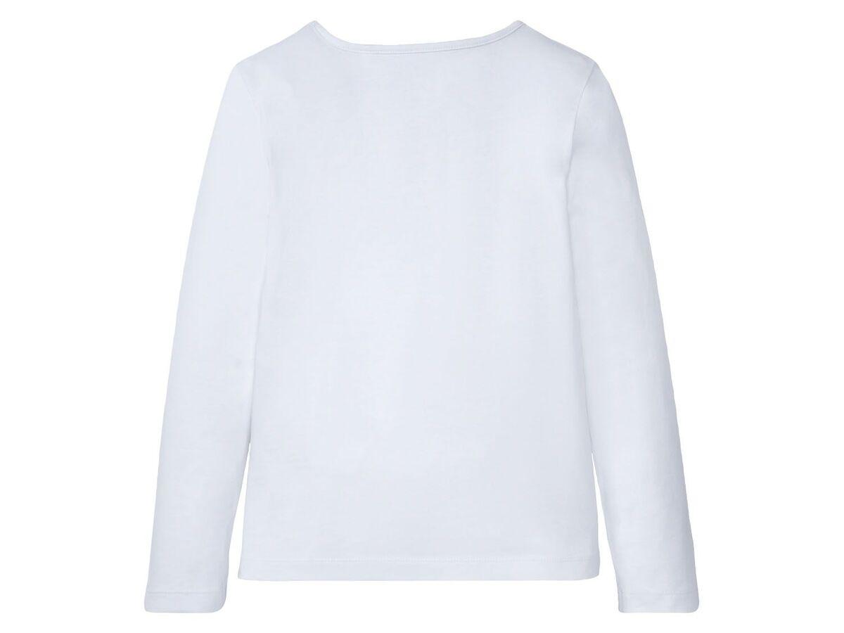 Bild 5 von PEPPERTS® Kinder Pyjama Mädchen, Shirt mit niedlichem Print, mit Baumwolle