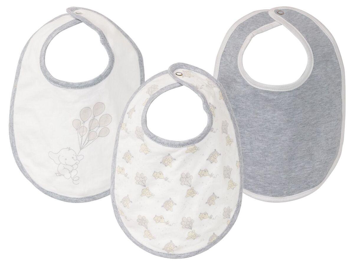 Bild 1 von LUPILU® Baby Lätzchen, 3 Stück, aus reiner Baumwolle