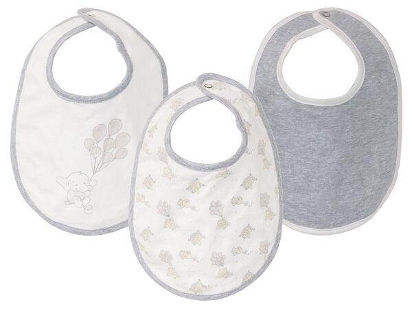 LUPILU® Baby Lätzchen, 3 Stück, aus reiner Baumwolle