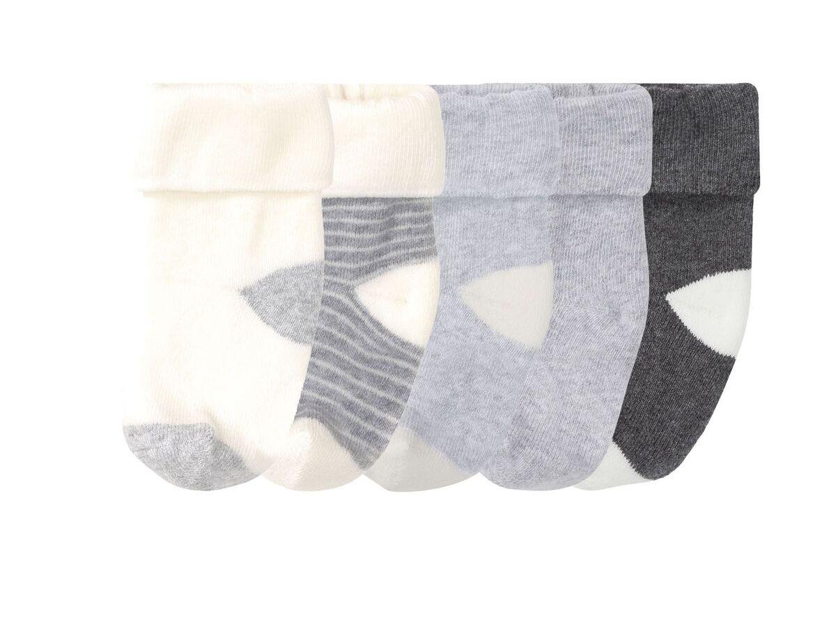 Bild 1 von LUPILU® Baby Thermosocken Jungen, 5 Paar, Umschlagbund