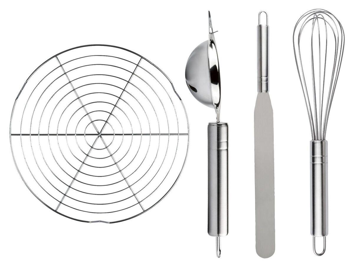 Bild 1 von ERNESTO® Küchenhelfer, 4-teilig, zum Backen