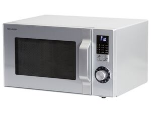 Sharp Mikrowelle R744S, 900 Watt, 25 l, 5 Leistungsstufen