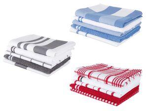 MERADISO® Geschirr- und Handtuchset 5tlg.