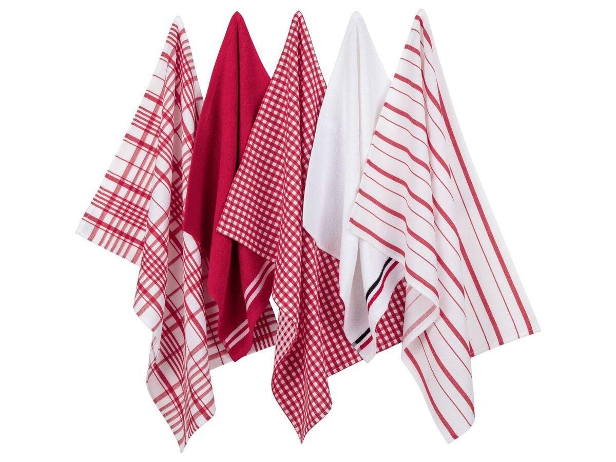 Bild 3 von MERADISO® Geschirr- und Handtuchset 5tlg.