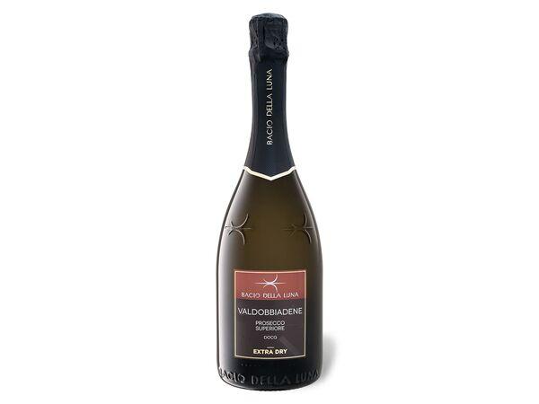 Bacio della Luna Valdobbiadene Prosecco Superiore DOCG extra dry, Vino Spumante 2018