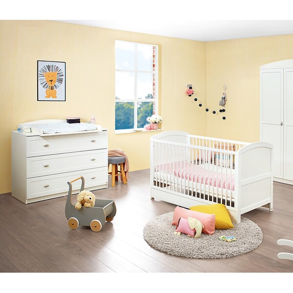 home24 Babyzimmerset Laura I (3-teilig)