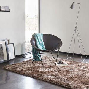 home24 Esprit Teppich New Glamour Taupe Rechteckig 200x200 cm (BxT) Modern Kunstfaser