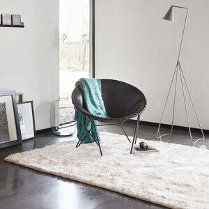 home24 Esprit Teppich New Glamour Weiß 200x200 cm (BxT) Kunstfaser