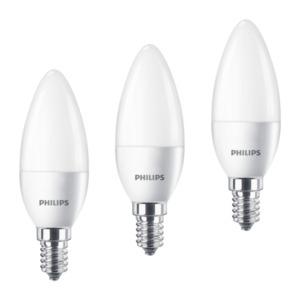 Philips LED-Leuchtmittel Kerzenform 470 lm