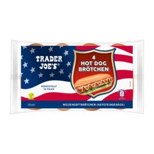 TRADER JOE'S     Hot Dog Brötchen