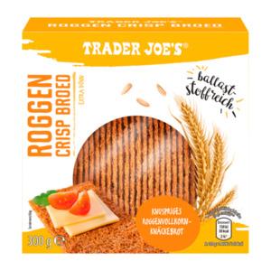 TRADER JOE'S     Roggen Crisp Broed