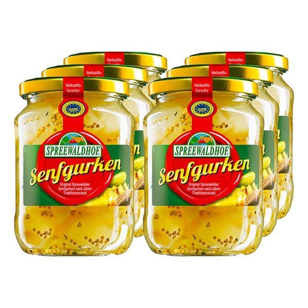 Spreewaldhof Senfgurken 420 g, 6er Pack