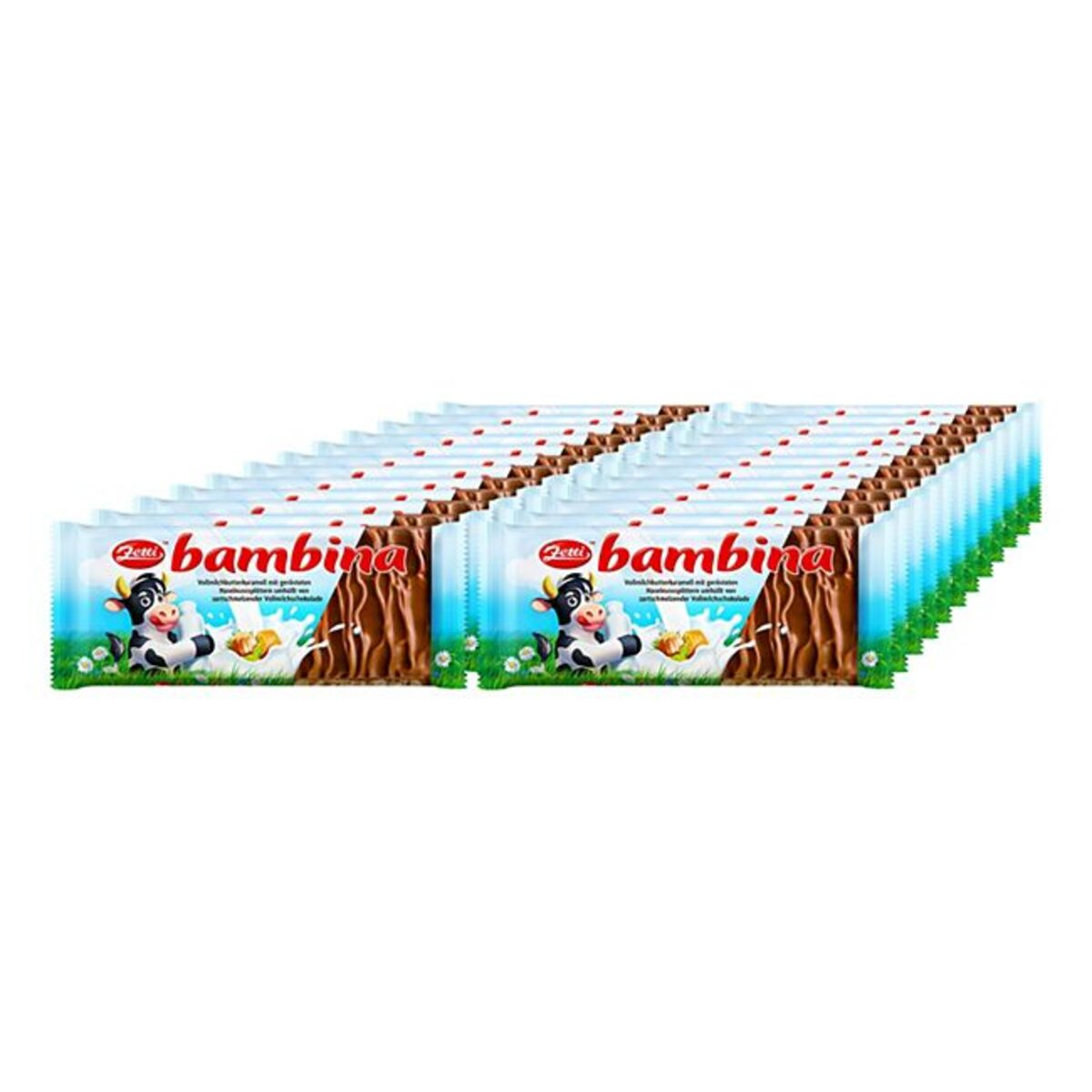 Bild 1 von Zetti Bambina Schokolade 100 g, 24er Pack