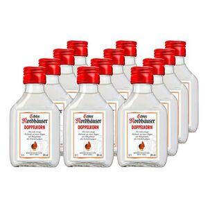Echter Nordhäuser Doppelkorn 38,0 % vol 100 ml, 12er Pack