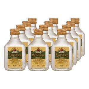 Nordbrand Nordhausen Weizenkorn 32,0 % vol 100 ml, 12er Pack