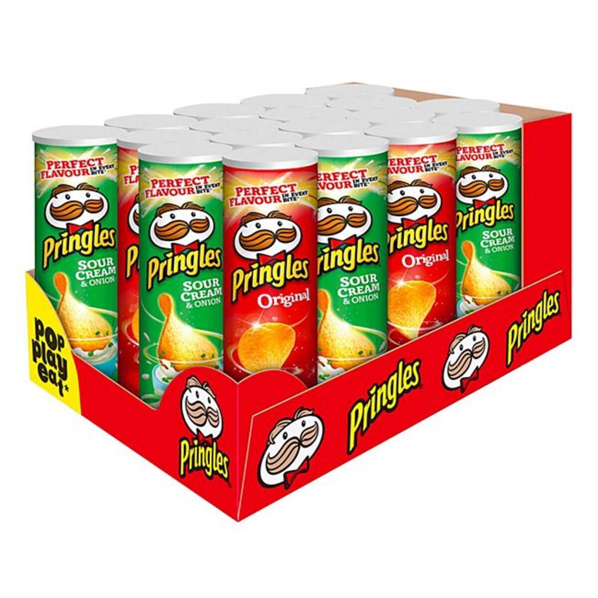 Bild 1 von Pringles Chips 200 g, verschiedene Sorten, 18er Pack