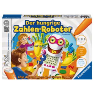 Ravensburger Tiptoi Spiel: Der hungrige Zahlen-Roboter
