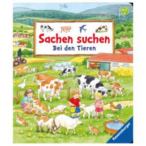 Ravensburger Kinderbuch Sachen Suchen: Bei den Tieren