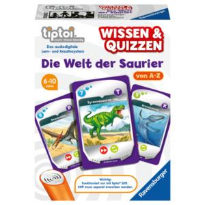 Ravensburger Tiptoi Wissen & Quizzen: Die Welt der Saurier
