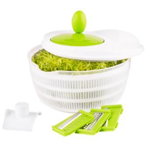 GOURMETmaxx Salat Set 3in1 mehrfarbig