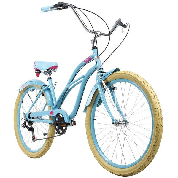KS Cycling Beachcruiser 26 Zoll Splash 6 Gänge für Damen