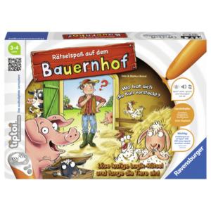 Ravensburger Tiptoi Spiel: Rätselspaß auf dem Bauernhof