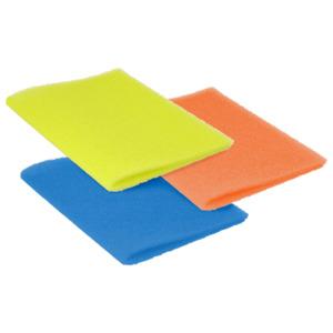 Steuber Kühlschrankmatte Fresh Up 3 Stück grün/orange/blau
