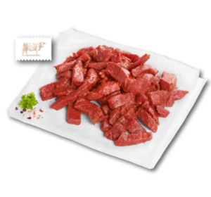 Frisches Rindergeschnetzeltes