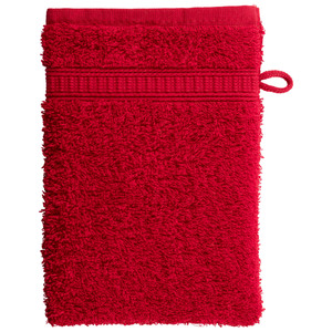 Waschhandschuh KRONBORG® de Luxe (16x21, rot)