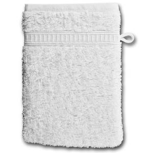 Waschhandschuh KRONBORG® de Luxe (16x21, weiß)