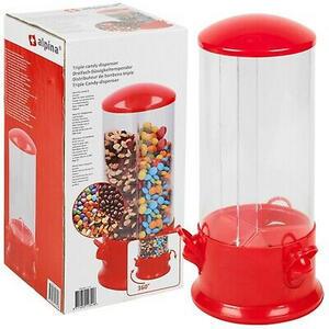 Alpina Süßigkeiten-/ cerealienspender , 11341 , Rot , Kunststoff , 31 cm , 006287106701