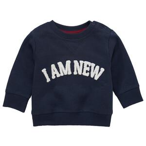 Newborn Sweatshirt mit Message-Print