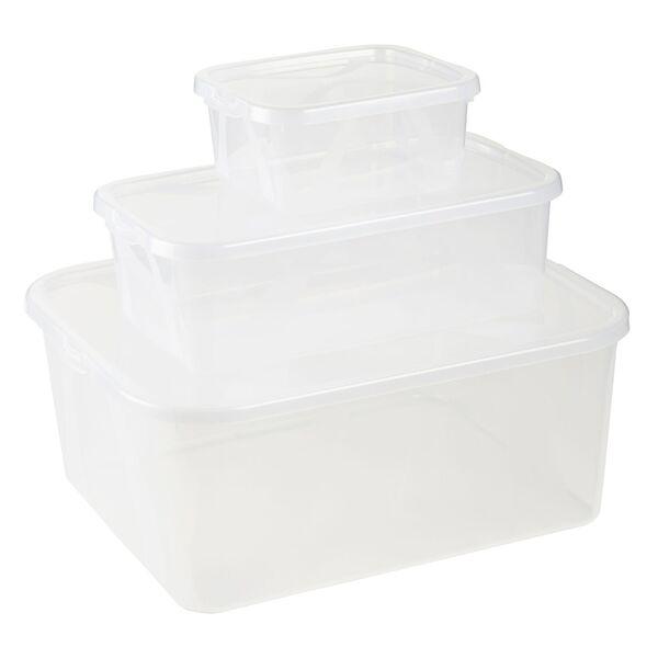 EASY HOME®  Klarsichtboxen-Set