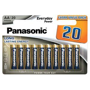 Panasonic 20er AA oder AAA-Batterien