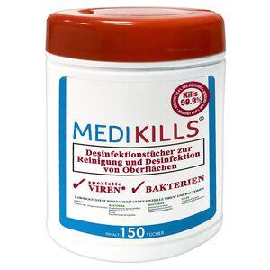 MEDIKILLS®  Desinfektionstücher-Box