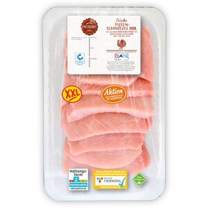 MEINE METZGEREI Putenschnitzel, XXL-Packung 1kg