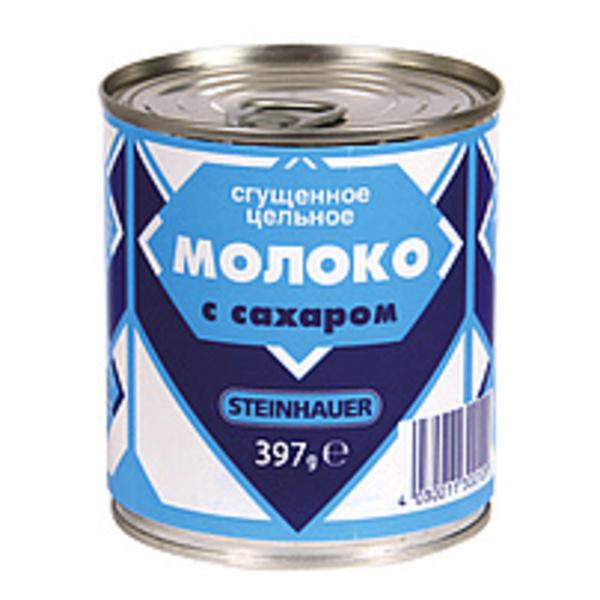 """Gezuckerte Kondensmilch """"Sguschönka"""" 8% Fett"""