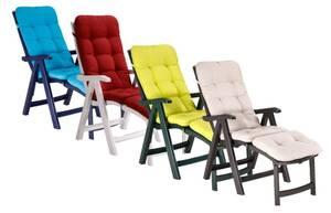 """Deckchair """"Florida"""" - Komplett-Sets mit Auflage Best"""