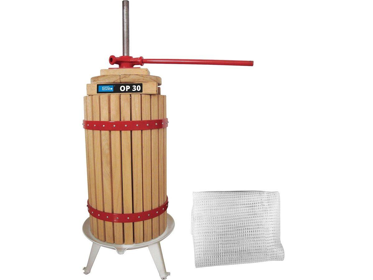 Bild 1 von Güde Obstpresse, 6, 12, 18 oder 30 Liter, mechanisch, mit Stahlspindel