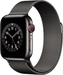 Watch Series 6 (40mm) GPS+4G mit Milanaise-Armband graphit