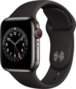 Watch Series 6 (40mm) GPS+4G mit Sportarmband graphit/schwarz