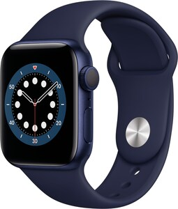 Watch Series 6 (40mm) GPS mit Sportarmband blau/dunkelmarine