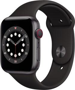 Watch Series 6 (44mm) GPS+4G mit Sportarmband space grau/schwarz