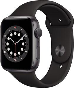 Watch Series 6 (44mm) GPS mit Sportarmband space grau/schwarz
