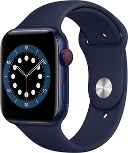 Watch Series 6 (44mm) GPS+4G mit Sportarmband blau/dunkelmarine