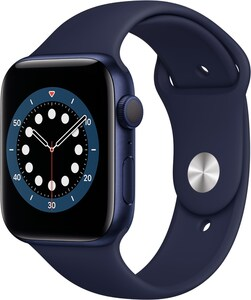 Watch Series 6 (44mm) GPS mit Sportarmband blau/dunkelmarine