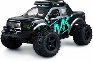 Warrior Monster Truck 1:10 RTR RC Auto schwarz/blau